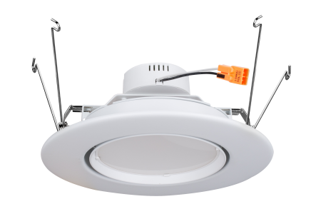 5-6 Inch Rotatable LED Residential Downlight Retrofit
