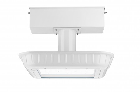 100W LED Canopy Fixture for Fuel Station